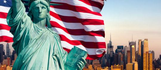 souvenirs voyage aux États-Unis
