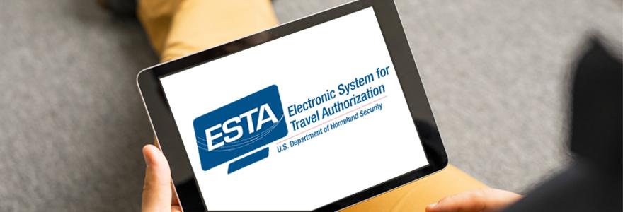 demande d'ESTA en ligne